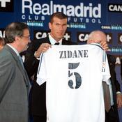 2001 : Zinédine Zidane