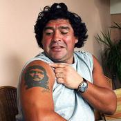 2003, Maradona et son tatouage du Che