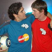 Avec Leo Messi