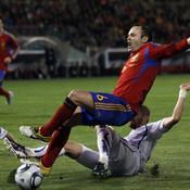 Espagne-Tchèque Iniesta