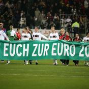 Les Allemands déplient leur banderolle
