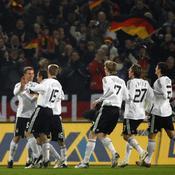 Les joueurs allemands