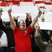 Angleterre - Lituanie : Fans anglais