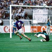 Euro 1984, France-Espagne, But Bellone