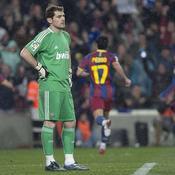 Barcelone-Real, Casillas dépité