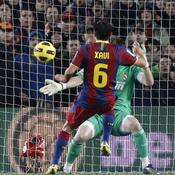 Barcelone-Real, Xavi