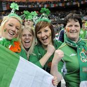 France-Irlande fans