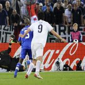 Les Italiens mène 2-0