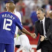 Donadoni et Thierry Henry