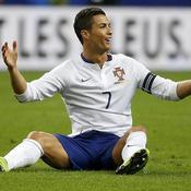 France-Portugal : Ronaldo au sol