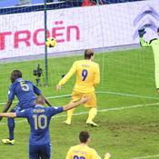 France-Ukraine : 2e but Sakho