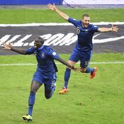 France-Ukraine : joie Sakho-Benzema
