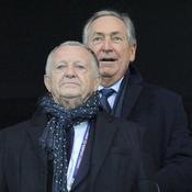 Avec Jean-Michel Aulas dont il est resté proche