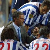 José Mourinho, Coupe UEFA 2003