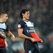 PSG-Lorient, Cavani but