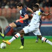 PSG-Lorient, Cavani