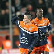 Le premier buteur du match, Rémy Cabella, célèbre sa réalisation.