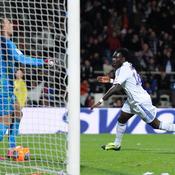 Bafétimbi Gomis a inscrit le premier but de la rencontre.