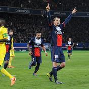 PSG-Nantes Joie Ibrahimovic