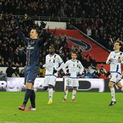 PSG-Bastia, Ibrahimovic
