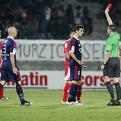 Ajaccio-Lyon : expulsion de Gourcuff