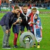 PSG-Brest : famille Beckham