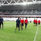 Grand Stade Lille : entraînement