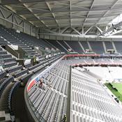 Grand Stade Lille : virages