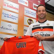 Ludovic Giuly à Lorient