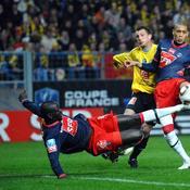 Quevilly-PSG 0-1 (demi-finales en 2010)