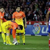 Grenade-Barça : Messi 2