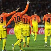 Grenade-Barça : Messi 3