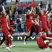 Les Romains célèbrent leur victoire à Parme_Reuters