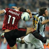 Juventus-Milans AC, Barzagli et Ibrahimovic