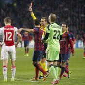 Ajax-Barça : carton rouge