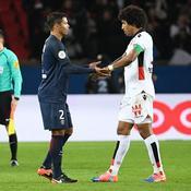 Thiago Silva (PSG) et Dante (Nice)