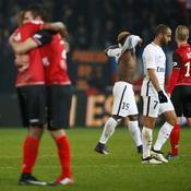 Guingamp-PSG 2-1 (18e journée)