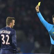 PSG-Barcelone, Beckham