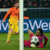 PSG-Barcelone, Messi