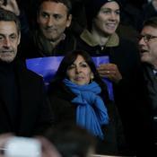 PSG-Barcelone, Sarkozy