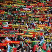 Les supporters portugais