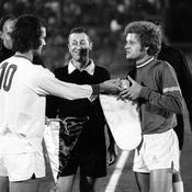 En Coupe d'Europe face à Cologne en 1971