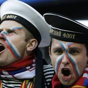 Les supporters russes