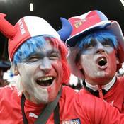 Les supporters tchèques