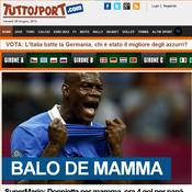 Balotelli, fils à maman