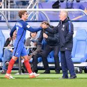 Antoine Griezmann et Didier Deschamps