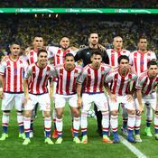 L'équipe du Paraguay lors d'un match de qualification à la Coupe du Monde 2018 face au Brésil, en mars dernier
