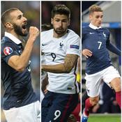Benzema, Giroud, Griezmann : les Bleus sont de nouveau d'attaque