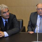 Raymond Domenech et Jean-Pierre Escalettes
