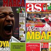 «Joyau», «crack», «galactique» : Mbappé affole la presse européenne
